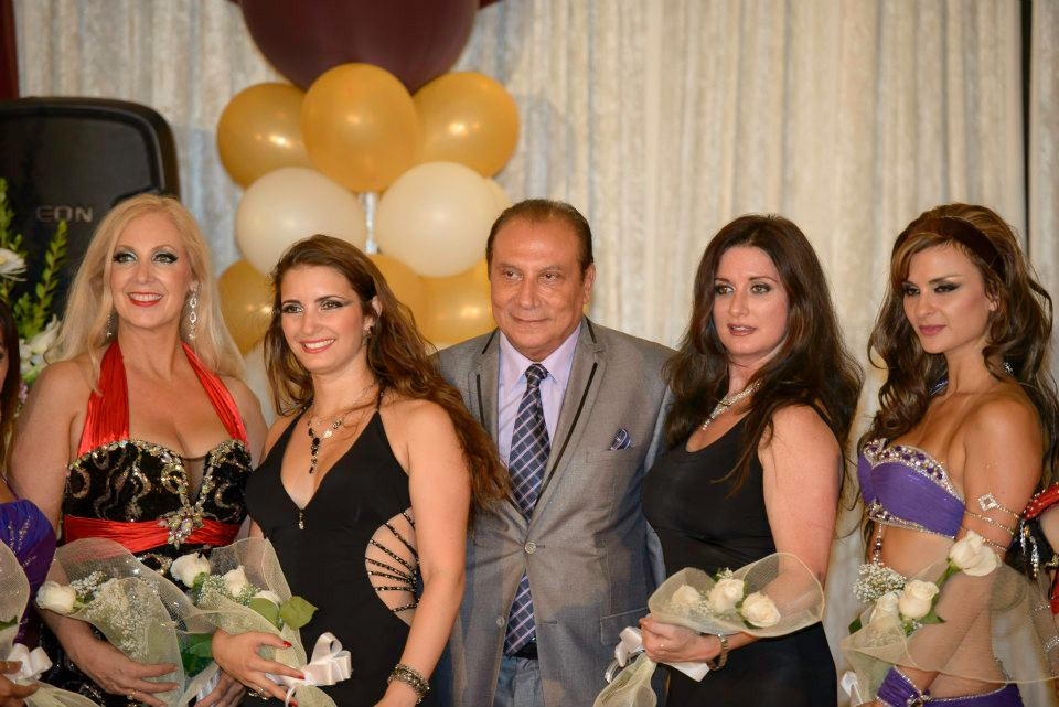 Cairo Nights show with Yael Zarca at Golden Nights