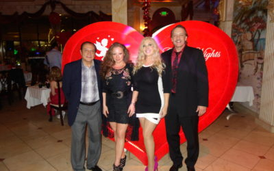 Valentine day at Golden Nights 2014