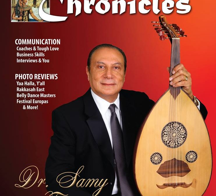 On the Cover of the Chronicles magazine April 2014