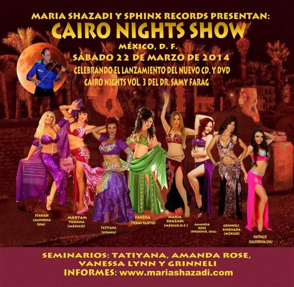 Cairo Nights at Mexico show
