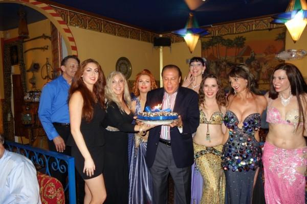 birthday celebration with Kataline Schafer